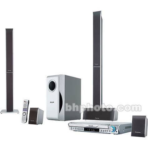 panasonic sc ht740 home theater system b h photo