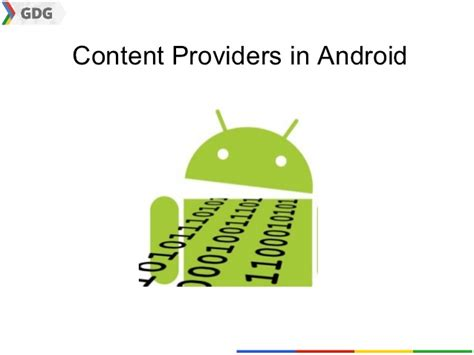 content provider android content providers in android