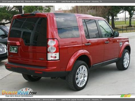 red land rover lr4 rimini red metallic 2010 land rover lr4 hse photo 11