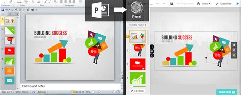Import A Powerpoint To Prezi Prezibase Embed Prezi In Powerpoint