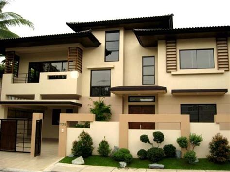 Asian Home Design Pictures | home furniture ideas modern asian exterior house design ideas