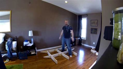 floating bed frame part  youtube