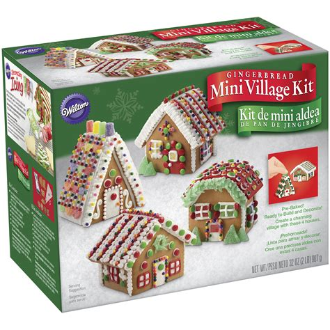 Gingerbread House Kit by Mini Gingerbread House Decorating Kit Craft