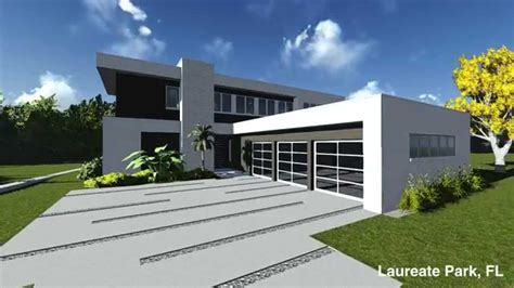 custom modern homes custom modern home laureate park orlando florida