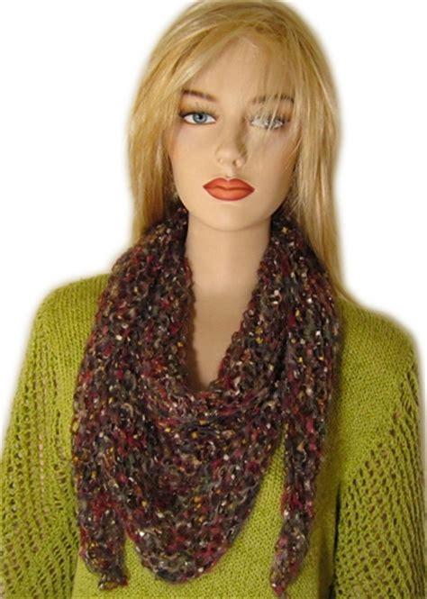 knitting pattern triangle head scarf free knitting pattern julia triangle scarf