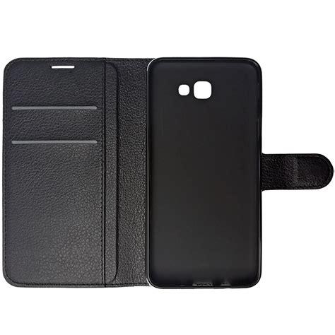 Samsung Galaxy J5 Wallet Pouch Card Leather Casing Dompet Armor leather wallet samsung galaxy j5 prime black
