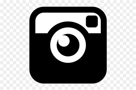 icone instagram preto png logo instagram hitam putih png