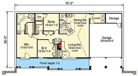 Earth Sheltered Home Plans by Earth Berm Home Plan With Style 57130ha Architectural