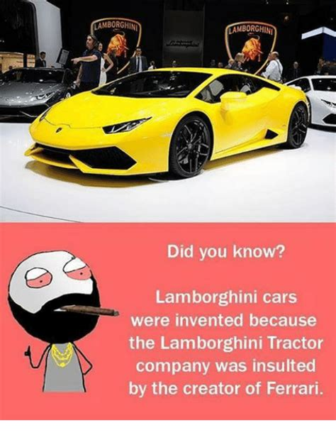 Who Invented Lamborghini Cars Lamborghini Memes Of 2017 On Sizzle Cars