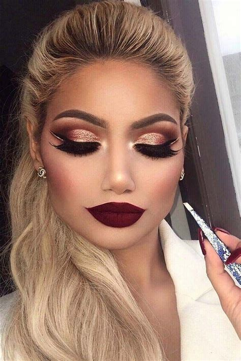 My Favorite Makeup Tips by 33 Best Winter Makeup Looks For The Season