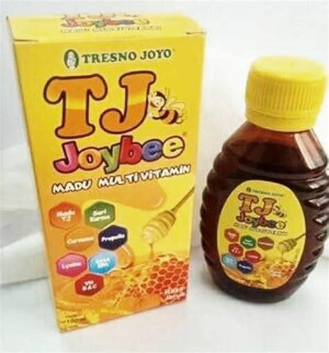 Tj Joybee Madu Multivitamin 100 Ml jual tresnojoyo joybee madukids original 100 ml prosehat