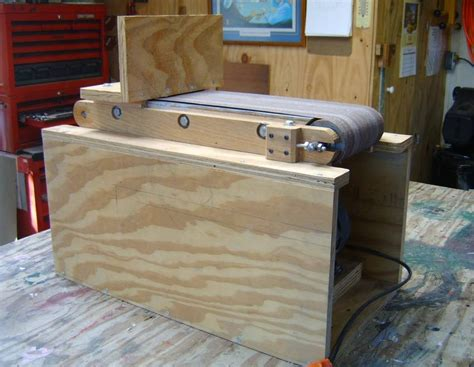 diy bench sander woodwork belt sander stand plans plans pdf download free