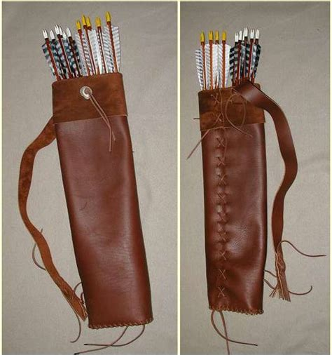 pattern for making a quiver how to make a quiver archery pinterest quiver
