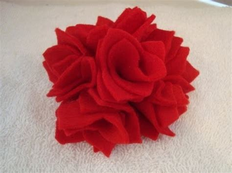 Fashion Erkud Flower felt fabric flower 9 fashions by carlitto
