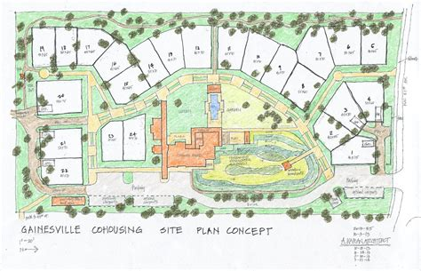 Cohousing Floor Plans by Gainesville Cohousing Hosting An On Site Open House