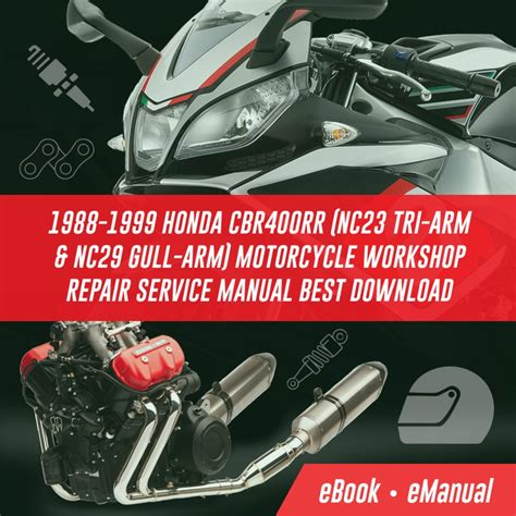 Cbr Series Cbr400rr Service Repair Workshop Manuals