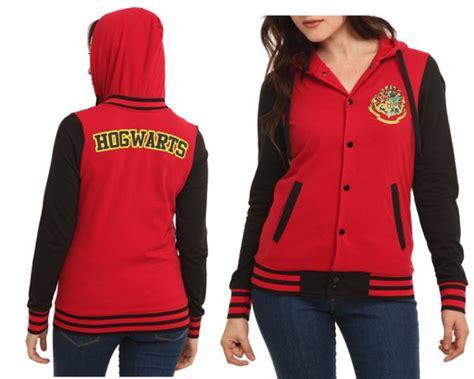 sweater hogwarts harry potter clothes baseball jacket