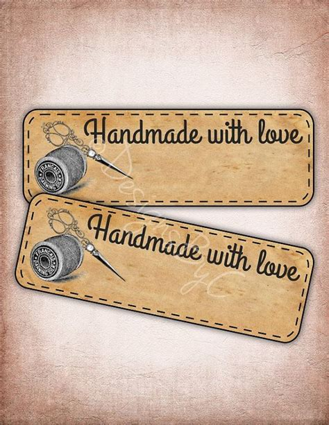 Handmade By Labels Sewing - pin by judy smith on free printables