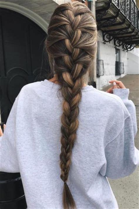 french braid pretty braided hairstyles hair