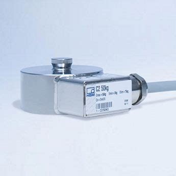 Hbm Canister Load Cell C2 compression load cell tension load cell supplier hbm
