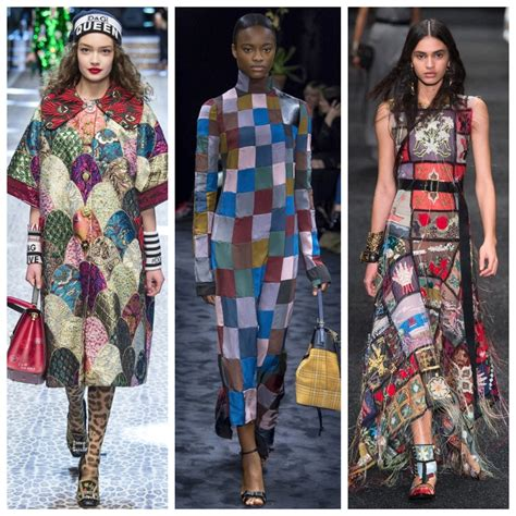 patchwork fashion fall 2017 trend 4 playful patchwork real style