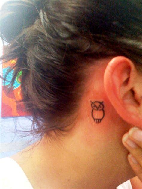 ne yo tattoo on neck 20 ideas of small owl tattoos designs yo tattoo