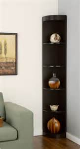 corner 5 shelf display stand modern display and wall shelves by overstock com