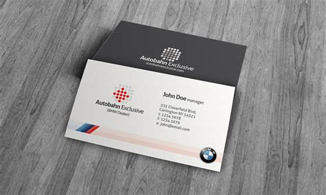 bmw business cards templates bmw business card template 187 free 187 cm00009