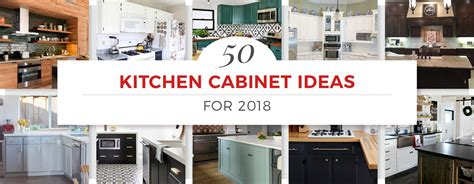 kitchen design ideas cabinets 50 kitchen cabinet ideas for 2018