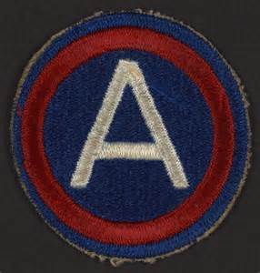 Recordings For The Blind World War Ii Corporal 3rd Army Patch Library Of Congress