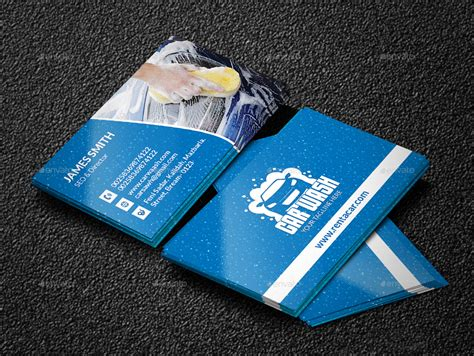 car wash business card template free car wash business cards business card design inspiration