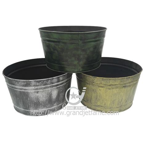 buy garden pots metal large flower pot garden decorative large flower pots
