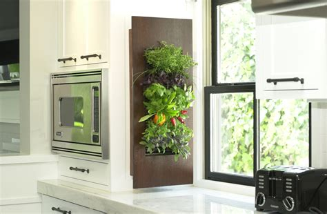 indoor herb garden wall how science art technology together create the kitchen