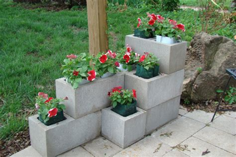 Cinder Block Garden Ideas 10 Backyard Concrete Ideas Page 9 Of 11 Cinder Block Garden Cinder Blocks And Gardening