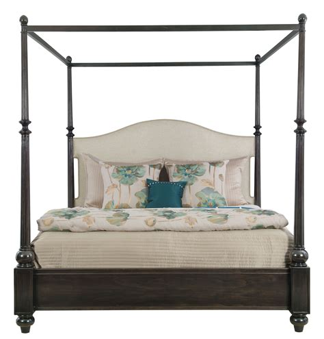 Upholstered Canopy Bed Upholstered Canopy Bed Bernhardt