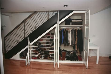 Closet The Stairs by Top 15 Most Awesome Ways To Use The Space Stairs