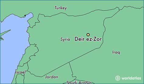 deir ez zor map where is deir ez zor syria where is deir ez zor syria