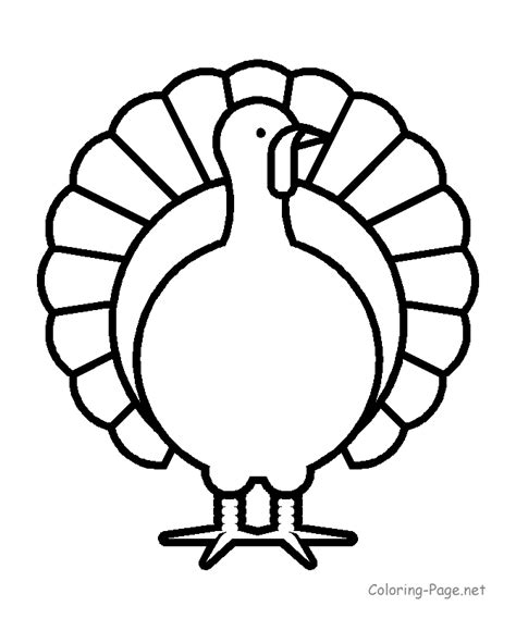 thanksgiving coloring pages turkey 8