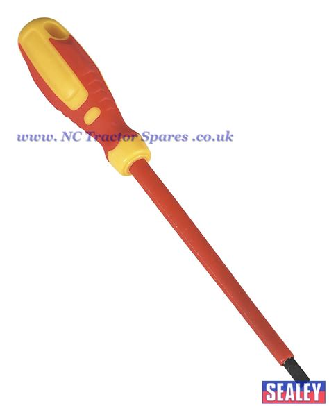 Screwdriver 5x 150 Mm screwdriver slotted 6 5 x 150mm vde tuv gs approved gripmax