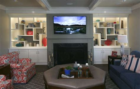 living room built ins home design
