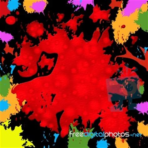 what color represents royalty splash background represents paint colors and blob stock