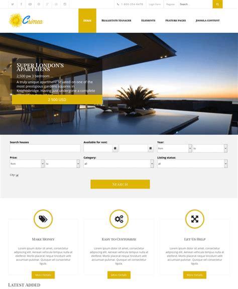joomla theme integration 6 of the best real estate joomla templates down