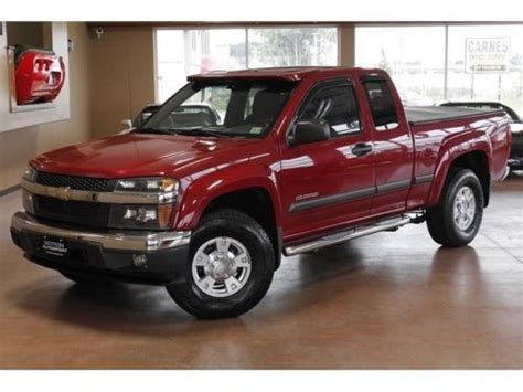 Chevrolet Colorado 4 Door For Sale by Sell Used 2005 Chevrolet Colorado Z71 4x4 Automatic 4 Door Truck In Canton Ohio United