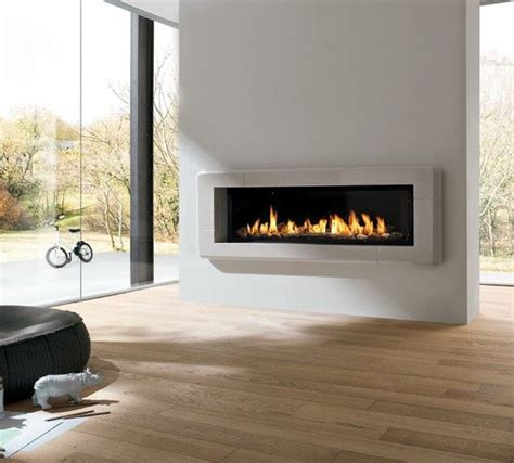 Modern Linear Gas Fireplace by 1000 Images About Linear Fireplaces Linear