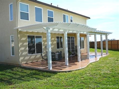 Combination Style Solid And Lattice Patio Covers Patio Covers Sacramento