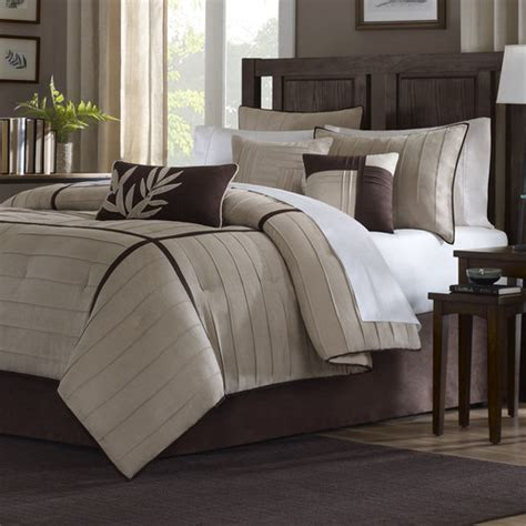 madison park dune 7 piece comforter set reviews wayfair