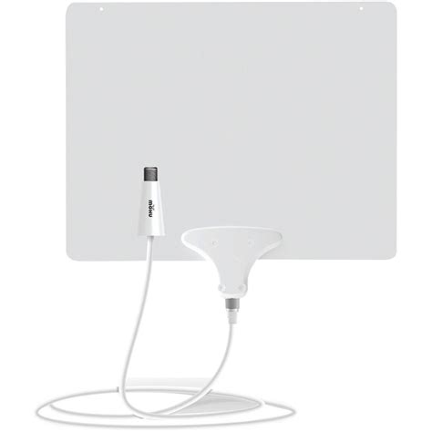 mohu leaf 50 lified indoor hdtv antenna mhumh110584 the home depot