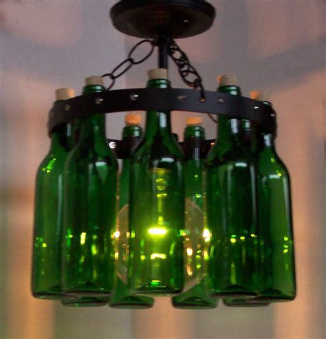 items similar to mini wine bottle chandelier ceiling l
