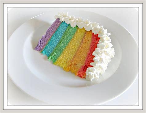 layered rainbow pinks needles rainbow layer cake recipe