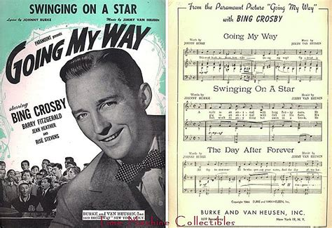 song swing on a star 1944 bing crosby going my way music too ra loo ra loo ral